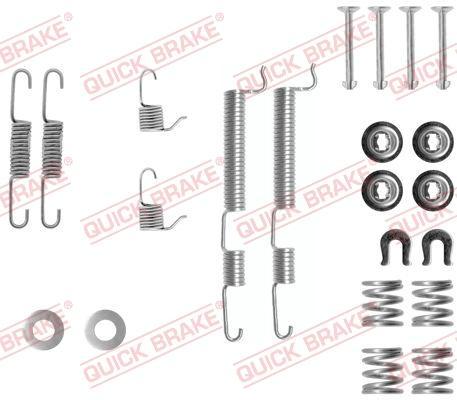 OJD Quick Brake 1050765 - Set accesorii, sabot de frana reperautotrans.ro