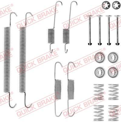 OJD Quick Brake 1050707 - Set accesorii, sabot de frana reperautotrans.ro