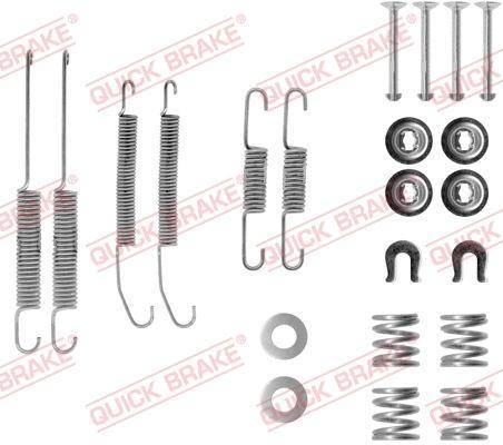 OJD Quick Brake 1050718 - Set accesorii, sabot de frana reperautotrans.ro