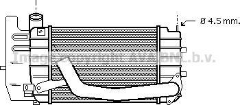 Prasco TOA4361 - Intercooler, compresor reperautotrans.ro