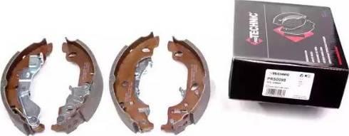 Protechnic PRS0098 - Setul de frânare, frâne cu tambur reperautotrans.ro