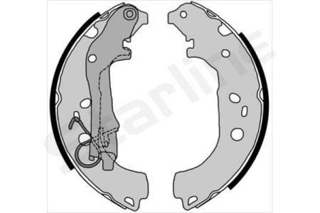 Starline BC 08590 - Setul de franare, frane cu tambur reperautotrans.ro