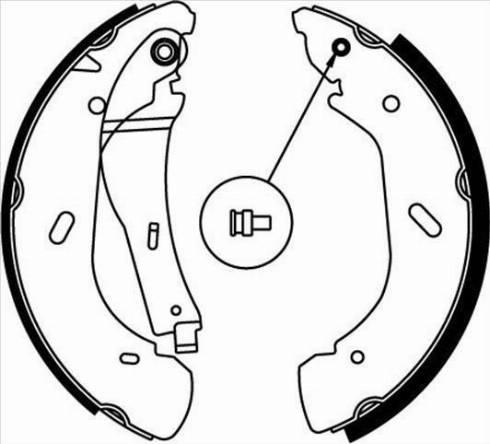 Starline BC 07790 - Setul de frânare, frâne cu tambur reperautotrans.ro