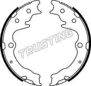 Trusting 049.163 - Set saboti frana, frana de mana reperautotrans.ro