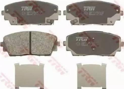 TRW GDB3535 - Set placute frana, frana disc reperautotrans.ro