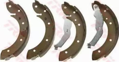 TRW GS8528 - Setul de frânare, frâne cu tambur reperautotrans.ro