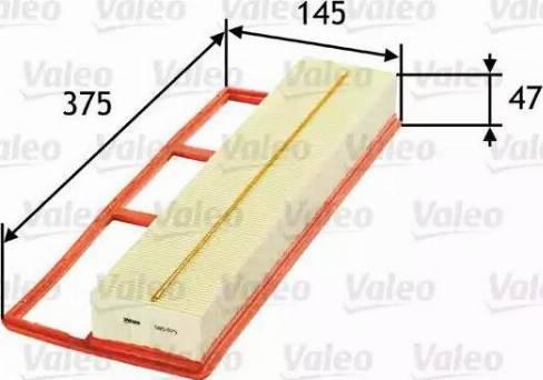 Valeo 585075 - Filtru aer reperautotrans.ro