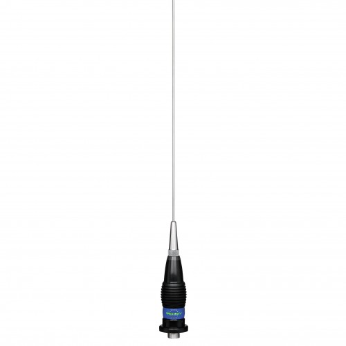 Antena Statie Radio Auto CB, President Alaska, 148cm, Prindere Fixa, Tip Unda 6/8