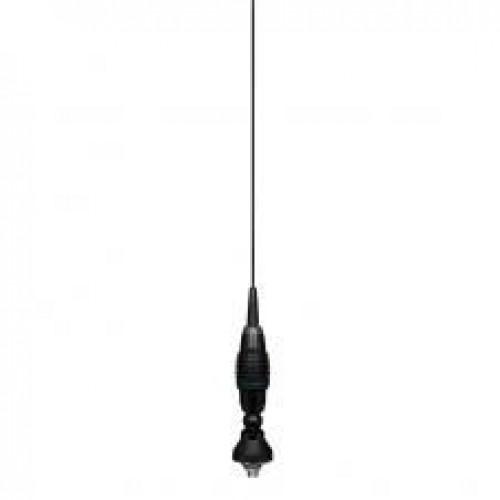 Antena Statie Radio Auto CB, President Oregon Black, 155cm, Prindere Fixa, Tip Unda 5/8, Ajustabila 90 Grade