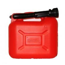 Canistra de Plastic cu Palnie, pentru Combustibil, 5 L, Borg Hico