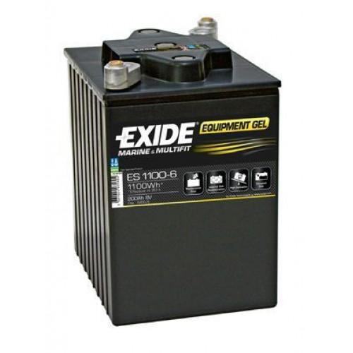 Acumulator Exide GEL 6V, 200Ah, 1100Wh, Cod ES 1100-6