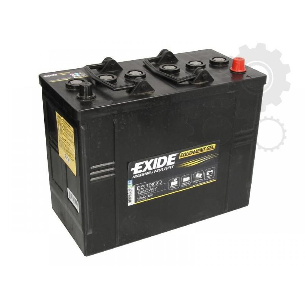 Acumulator Auto Exide GEL 12V, 120Ah / 1300Wh, Cod ES 1300