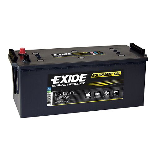 Acumulator Auto Exide GEL 12V, 120Ah / 1350Wh, Cod ES 1350
