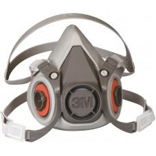 Semi masca reutilizabila 3M, seria 6000, pt gaze, ADR, vapori, particule