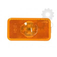 Lampa Gabarit Incastrabila Cu LED, 102x54mm ( 10,2x5,4cm ), Lampa Pozitie Galbena