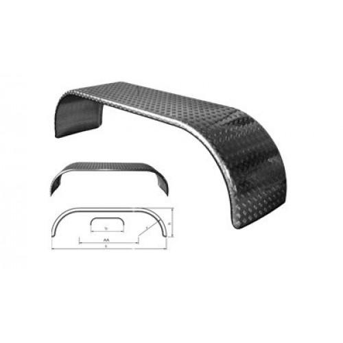 Aripa Aluminiu Pentru Axe Tandem, 270 x 67 x 65 cm ( 2700 x 670 x 650 mm )