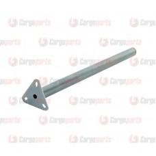 Suport, Teava Dreapta pentru Prindere Aripa Pe Sasiu, Lungime 800mm (80 cm), Diametru 42mm ( 4,2 cm )