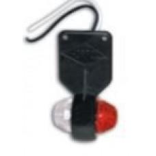 Lampa Gabarit, Laterala Alb / Rosu, Cu LED, 12-24V, Pandantiv