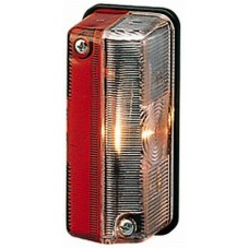 Lampa Gabarit Laterala, Universala, 24V, Lampa Pozitie Alba / Rosu