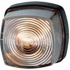 Lampa Gabarit, 62x62mm ( 6,2x6,2cm ), Lampa Pozitie Alba