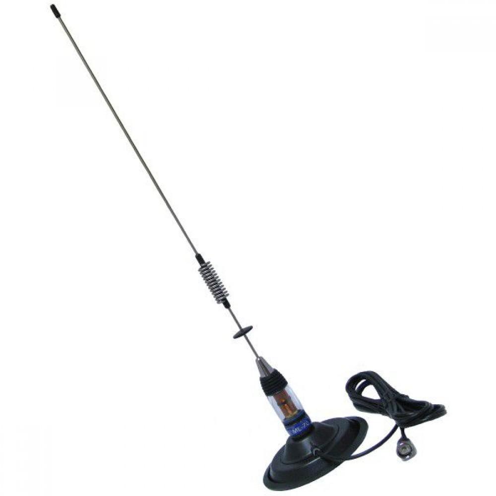 Antena Statie Radio Auto CB, PNI ML70 Lungime 70cm, 700mm Si Magnet 145 mm Inclus