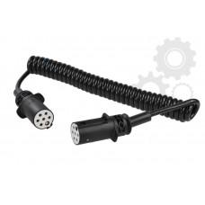 Cablu Electric Spiralat, Tip S 7/24V, 6 Pini Tip Mama, Feminin, 3.5m, Din Plastic, HELLLA
