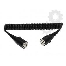 Cablu Electric Spiralat, Tip S 7/24V, 6 Pini Tip Mama, Feminin, 4m, Din Plastic, HELLLA