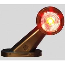Lampa Gabarit, Corn 45 Grade, 12-24V, Partea Stanga