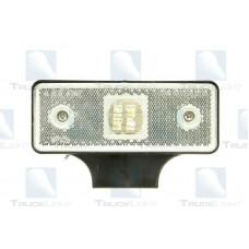 Lampa Gabarit Cu Suport, Cu LED, Lampa Pozitie, Culoare Alb, 24V