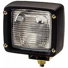 Lampa De Lucru Patrata Ultra Beam FF Cu Mufa AMP (H3), 12-24V