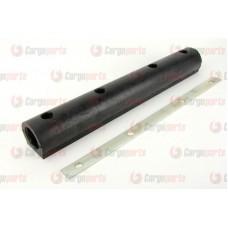 Tampon Cauciuc + Banda Metalica Remorca 590x90x75mm (59x9x7.5cm)