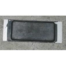 Tampon Aluminiu-Cauciuc Remorca, Dreptunghiular 165x60x14mm (16.5x6x1.4cm)