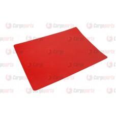 Petic Pentru Lipit Prelata, Perdea, Culoare Rosu, 35x42cm (350x420mm)