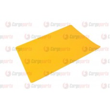 Petic Pentru Lipit Prelata, Perdea, Culoare Galben, 35x42cm (350x420mm)