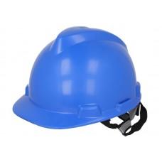 Casca Protectie, Cap, ADR, Culoare Albastra, Prindere in 4 Puncte