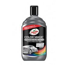 Ceara solida polish pentru culoarea Gri Color Magic, Turtle Wax 500 ml