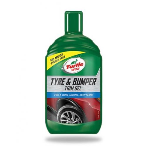 Tire & Bumper Trim Gel Turtle Wax 500 ML - Agent curatare si intretinere anvelope, bara, aparatoare noroi