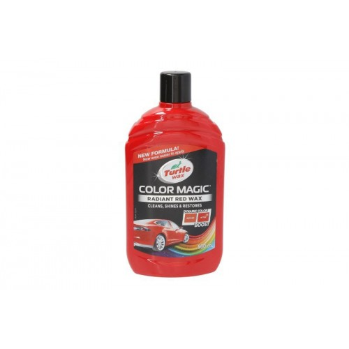 ColorMagic Radiant Red Wax Turtle WAX 500 ML - ceara lichida rosu radiant fara stick