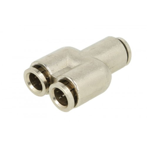 """Conectori, Cupla Rapida Tip """"Y"""", Diametru 8 mm, Metal, 1 Bucata"""