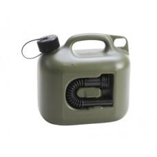 Canistra de Plastic cu Palnie, pentru Combustibil, 5 L, Rexxon, Hunersdorff