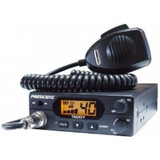 Statie Radio Auto CB, Emisie Receptie, President Teddy ASC, 40 Canale AM/FM
