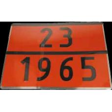 Placa ADR 23/1965 GPL, 40 x 30 cm ( 400 x 300 mm )