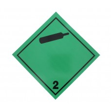 Eticheta ADR Autocolanta Pericol Transport Gaze Neinflamabile Netoxice Clasa 2.2n, 300x300mm ( 30x30cm )