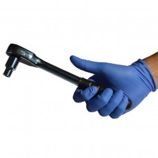 Manusi de protectie albastre, fine, de unica folosinta, nitril, Cutie 100 bucati