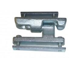 Set complet Balama Oblon din 2 bucati cu deschidere la 180 grade, cu elemente de prindere, Lungime 120mm (12cm)