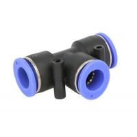 Conectori Furtun Aer, Cupla Rapida, Profil T, Diametru 11mm, Plastic, 1 Bucata