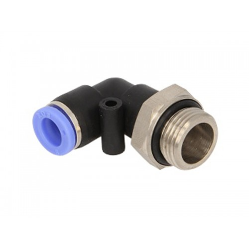 Conectori, Cupla Reducere, Cupla Rapida, Profil L, Reductie 8 mm/Filet G3/8 Inch , Metal-Plastic, 1 Bucata