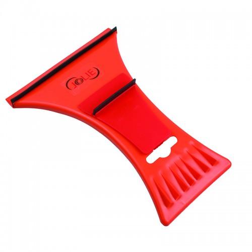 Racleta Dubla Din Plastic Cu 2 Lamele Cauciuc, pt dezghetare parbriz